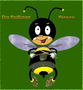 Logo der Fleissigen Bienen