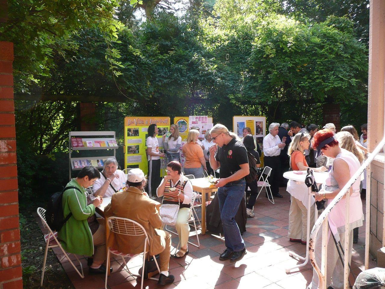Fest zur Einweihung der Villa 2012