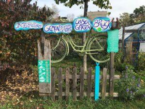 Gartenschild Interkultureller Gemeinschaftsgarten