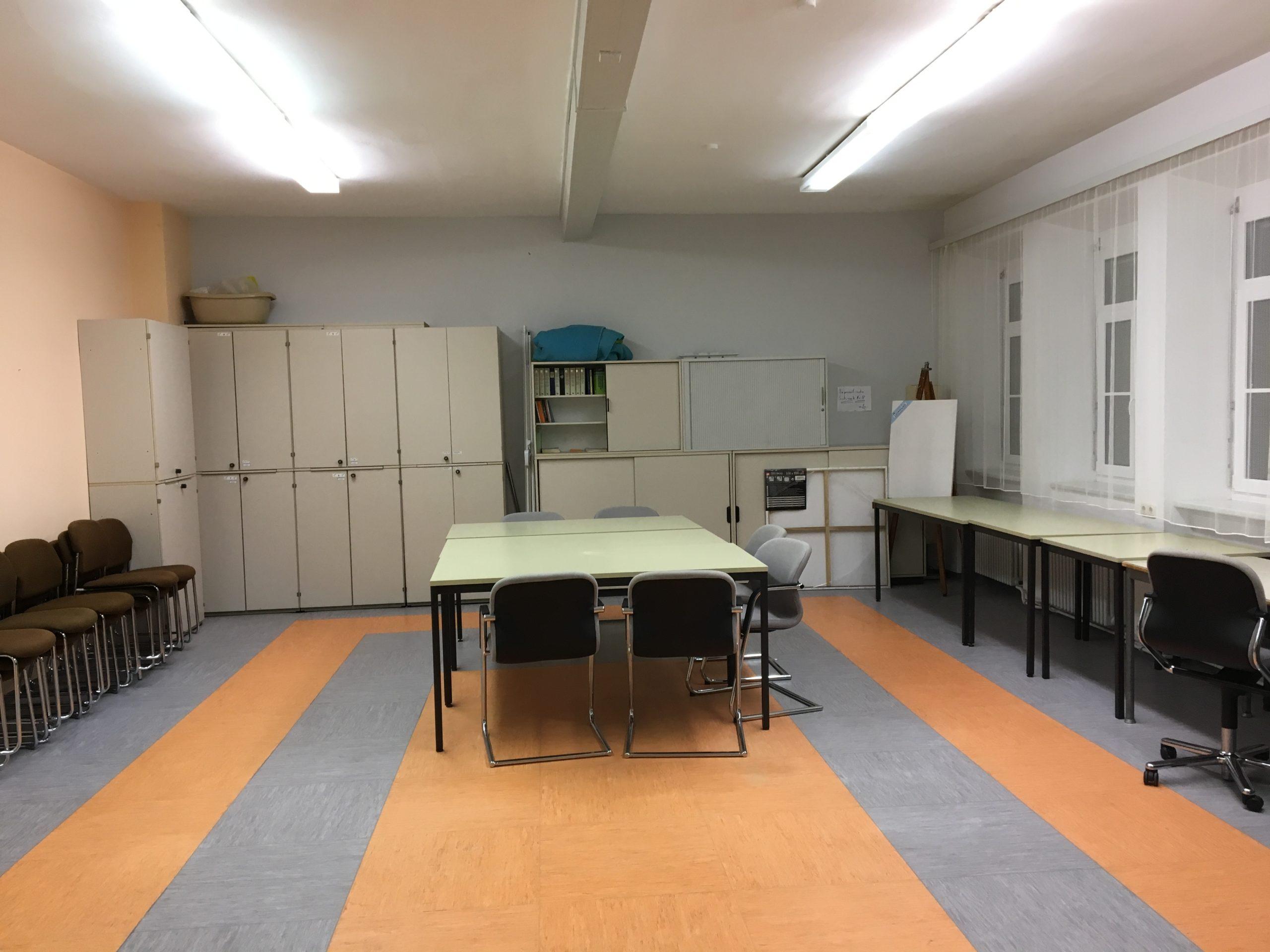 Mehrzweckraum im Freizeithaus Dechsendorf